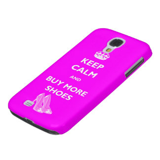 Keep Calm And Buy More Shoes HTC Case