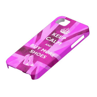 Keep Calm And Buy More Shoes iPhone 5 Case