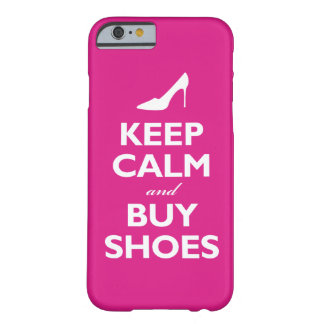 Keep Calm and Buy Shoes (hot pink) Barely There iPhone 6 Case