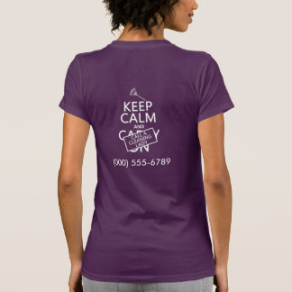 Keep Calm and Call A Cleaning Lady T-Shirt