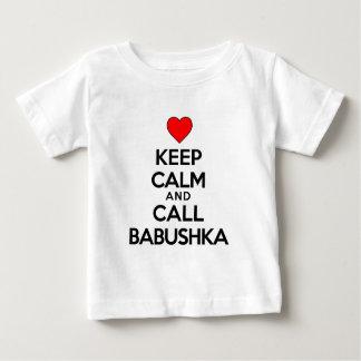 Keep Calm And Call Babushka Baby T-Shirt