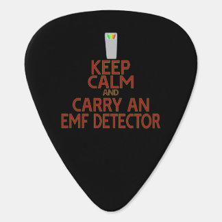 Keep Calm and Carry an EMF Detector (Parody) Guitar Pick
