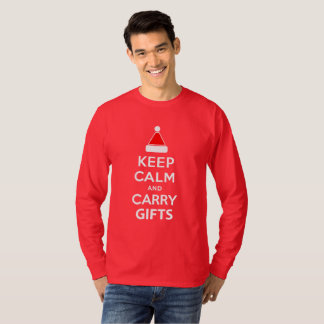 Keep Calm and Carry Gifts T-Shirt