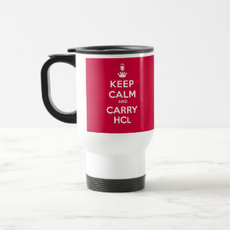 Keep Calm and Carry HCL Travel Mug