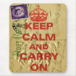 Keep calm and carry mouse pads