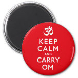 Keep Calm and Carry Om Motivational Morale