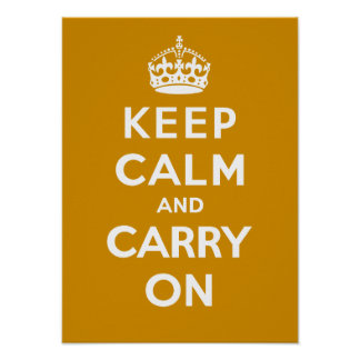 Keep Calm and Carry On_CARAMEL Poster
