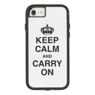 KEEP CALM AND CARRY ON Case-Mate TOUGH EXTREME iPhone 8/7 CASE