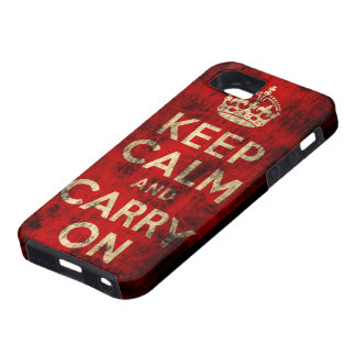 Keep Calm and Carry On CaseMate Vibe iPhone 5 Case