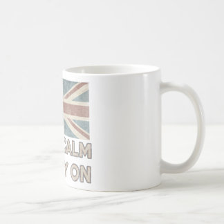 Keep Calm And Carry On Coffee Mugs