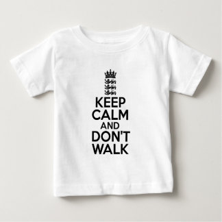 Keep calm and carry on cricket baby T-Shirt