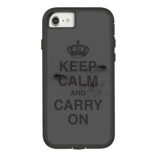 KEEP CALM AND CARRY ON GRUNGY Case-Mate TOUGH EXTREME iPhone 8/7 CASE