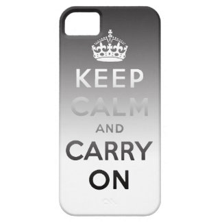 Keep Calm and Carry On iPhone4 Case
