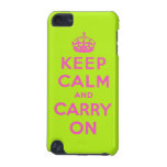 keep calm and carry on iPod touch 5G case