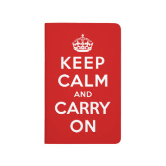Keep Calm and Carry On Journals