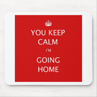Keep Calm and Carry On. Mouse Pad