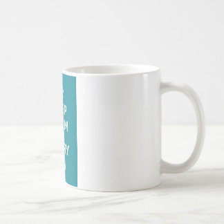 Keep Calm and Carry On_MUG_AQUA Classic White Coffee Mug