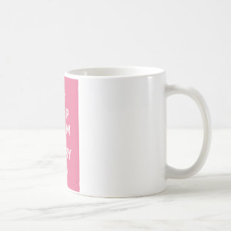 Keep Calm and Carry On_MUG_PINK Classic White Coffee Mug