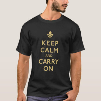 Keep Calm and Carry On, New Orleans! T-Shirt
