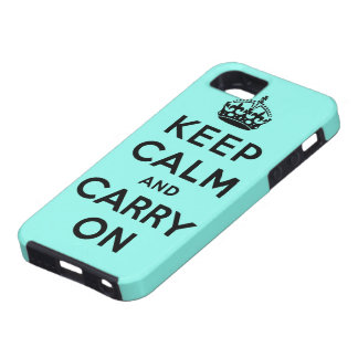 keep calm and carry on Original Case For The iPhone 5