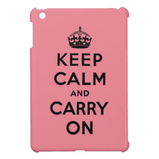 keep calm and carry on Original iPad Mini Case