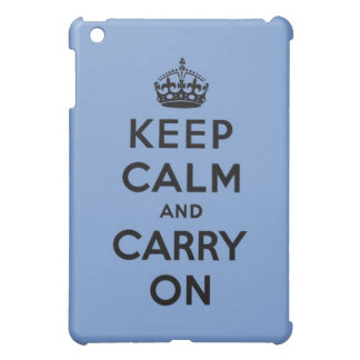 keep calm and carry on Original iPad Mini Covers