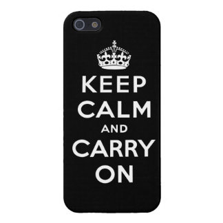 keep calm and carry on Original iPhone 5/5S Cases
