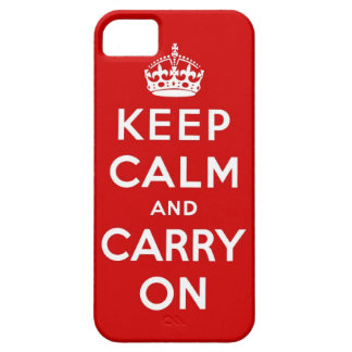 keep calm and carry on Original iPhone 5 Case