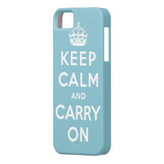 keep calm and carry on Original iPhone 5 Cover