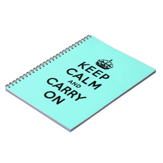keep calm and carry on Original Notebooks