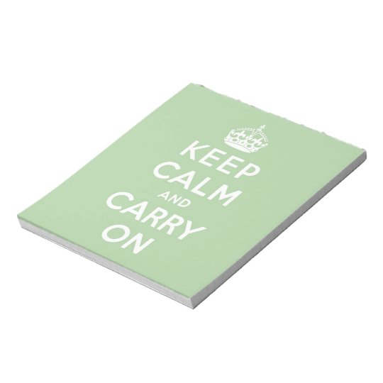keep calm and carry on Original Notepad