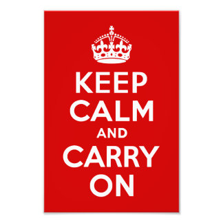 Keep Calm and Carry On Photo