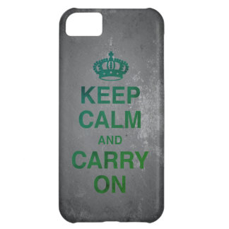 KEEP CALM AND CARRY ON / Slate Case-Mate iPhone Case