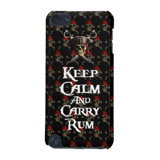 Keep Calm And Carry Rum iPod Touch 5G Covers