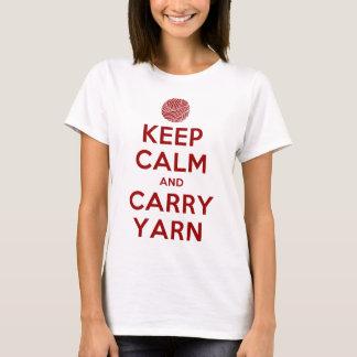 Keep Calm and Carry Yarn T-Shirt