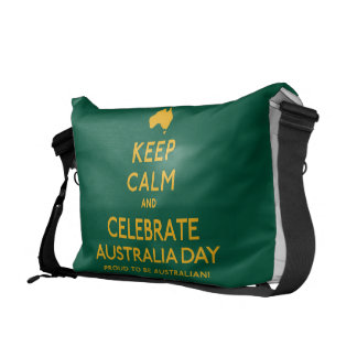 Keep Calm and Celebrate Australia Day! Courier Bags