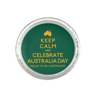 Keep Calm and Celebrate Australia Day! Ring