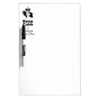 Keep Calm and Celebrate Goat year 2015 Dry-Erase Whiteboards