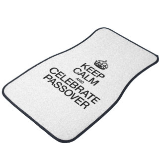 KEEP CALM AND CELEBRATE PASSOVER FLOOR MAT
