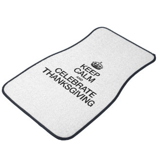 KEEP CALM AND CELEBRATE THANKSGIVING FLOOR MAT
