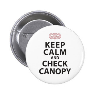 KEEP CALM AND CHECK CANOPY BUTTONS