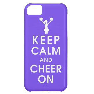 keep calm and cheer cheerleader completion funny h iPhone 5C cover