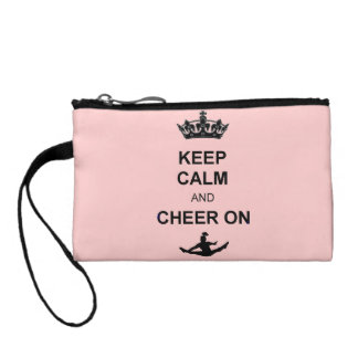 Keep Calm and Cheer Coin Purse