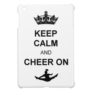 Keep Calm and Cheer ipad mini case
