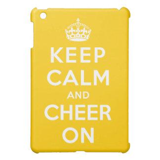 Keep Calm and Cheer On iPad Mini Case