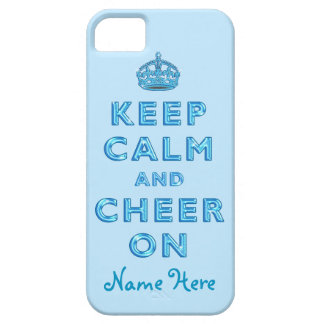 KEEP CALM AND CHEER ON iPhone for Cheerleaders iPhone 5 Cover