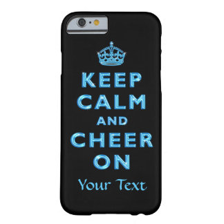 Keep Calm and Cheer On Personalized iPhone 6 Cases