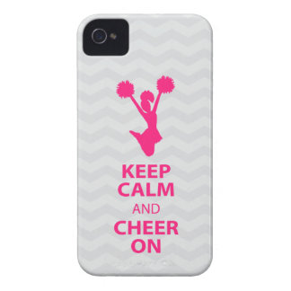 KEEP CALM and CHEER ON - Pink - iPhone4/4s case