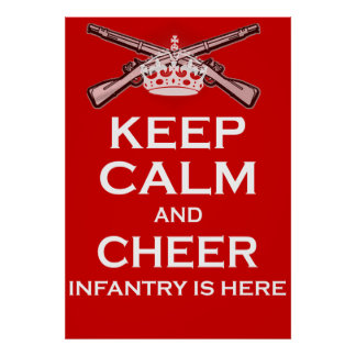 Keep Calm and Cheer... Poster