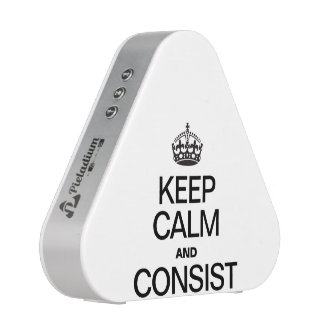 KEEP CALM AND CONSIST BLUEOOTH SPEAKER